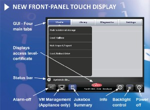 ArXtor Front-Panel Touch Display